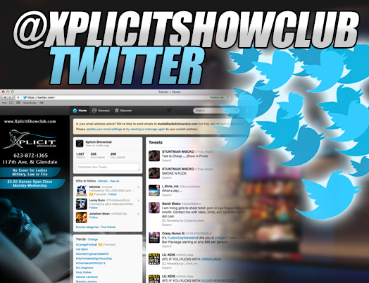 Xplicit Twitter Page
